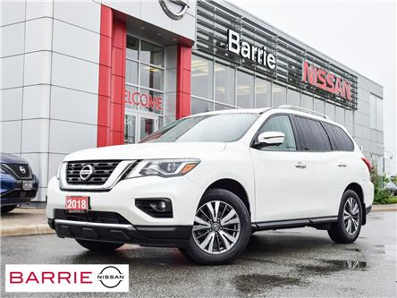 2018 Nissan Pathfinder SL Premium (Stk: P4853) in Barrie - Image 1 of 30