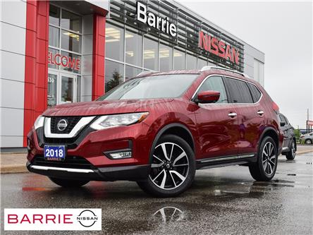 2018 Nissan Rogue SL w/ProPILOT Assist (Stk: P4860) in Barrie - Image 1 of 30