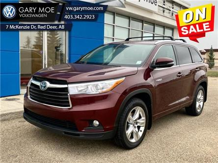 2016 Toyota Highlander Hybrid Limited (Stk: 1AT9513A) in Red Deer County - Image 1 of 22