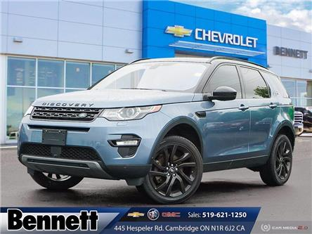 2019 Land Rover Discovery Sport HSE LUXURY (Stk: 210677A) in Cambridge - Image 1 of 28