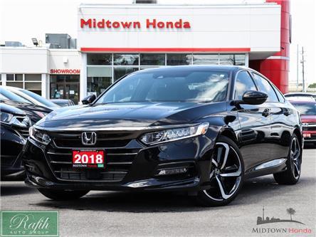 2018 Honda Accord Sport (Stk: P15053) in North York - Image 1 of 28
