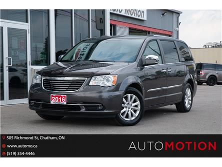 2016 Chrysler Town & Country Limited (Stk: TTT085) in Chatham - Image 1 of 29