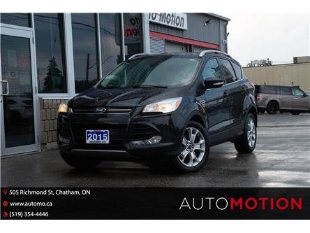 2015 Ford Escape Titanium (Stk: 211403) in Chatham - Image 1 of 24