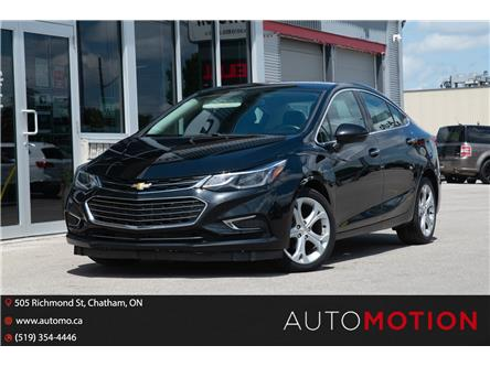 2017 Chevrolet Cruze Premier Auto (Stk: 211375) in Chatham - Image 1 of 23