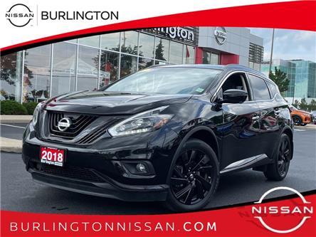 2018 Nissan Murano Midnight Edition (Stk: A7269) in Burlington - Image 1 of 20