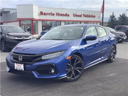 2018 Honda Civic Sport Touring (Stk: 11-21787A) in Barrie - Image 1 of 24