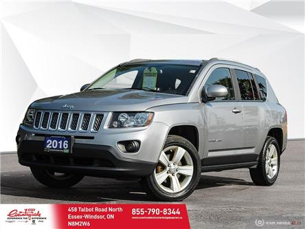 2016 Jeep Compass Sport/North (Stk: 214801) in Essex-Windsor - Image 1 of 30
