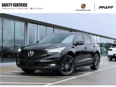 2019 Acura RDX A-Spec at (Stk: U9861) in Vaughan - Image 1 of 30