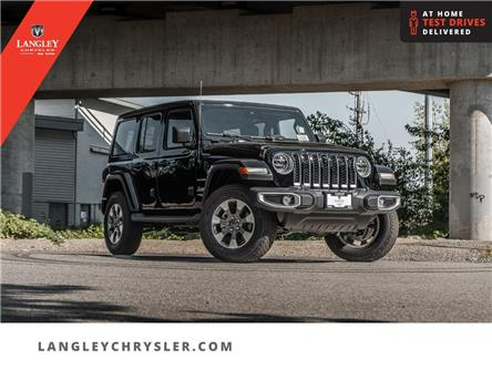 2021 Jeep Wrangler Unlimited Sahara (Stk: M679643) in Surrey - Image 1 of 23