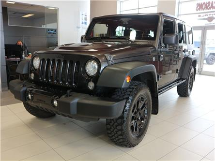 2017 Jeep Wrangler Unlimited Sport (Stk: M0454A) in Québec - Image 1 of 32