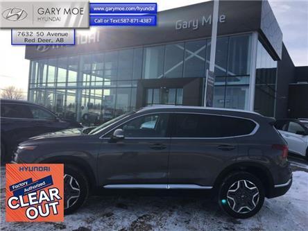 2021 Hyundai Santa Fe Hybrid Preferred AWD w/Trend Package (Stk: 1SF2994) in Red Deer - Image 1 of 11