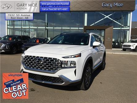 2021 Hyundai Santa Fe Hybrid Luxury AWD (Stk: 1SF5509) in Red Deer - Image 1 of 11