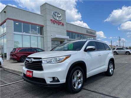 2016 Toyota Highlander Limited (Stk: 136854A) in Woodstock - Image 1 of 24