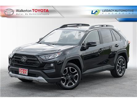 2019 Toyota RAV4 Trail (Stk: PM124A) in Walkerton - Image 1 of 19