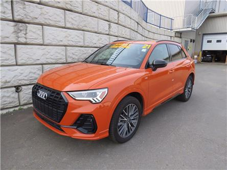 2021 Audi Q3 Technik, LEATHER, LOW KM, LOADED (Stk: D10837P) in Fredericton - Image 1 of 22