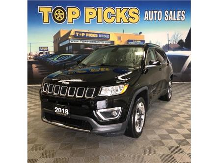 2018 Jeep Compass Limited (Stk: 155367) in NORTH BAY - Image 1 of 30
