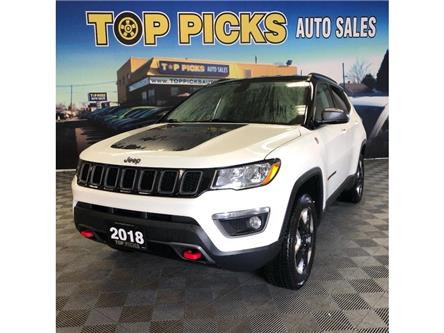 2018 Jeep Compass Trailhawk (Stk: 128882) in NORTH BAY - Image 1 of 30