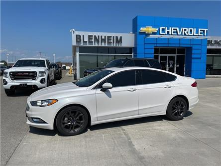 2018 Ford Fusion SE (Stk: M113A) in Blenheim - Image 1 of 18