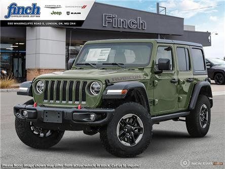 2021 Jeep Wrangler Unlimited Rubicon (Stk: 102164) in London - Image 1 of 24