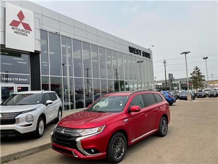 2022 Mitsubishi Outlander PHEV Black Edition (Stk: P22100) in Edmonton - Image 1 of 26