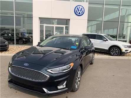 2020 Ford Fusion Hybrid Titanium (Stk: F0527) in Saskatoon - Image 1 of 5