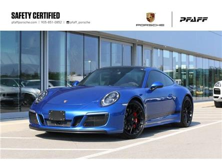 2017 Porsche 911 Carrera 4 GTS Coupe PDK (Stk: U9888) in Vaughan - Image 1 of 30