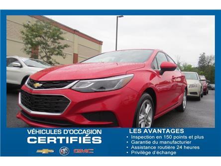 2017 Chevrolet Cruze LT Auto (Stk: U9198) in Sainte-Julie - Image 1 of 22