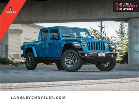 2021 Jeep Gladiator Rubicon (Stk: M592657) in Surrey - Image 1 of 26