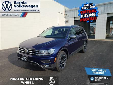 2021 Volkswagen Tiguan United (Stk: V2183) in Sarnia - Image 1 of 23