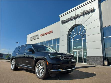 2021 Jeep Grand Cherokee L Summit (Stk: AM111) in Olds - Image 1 of 29