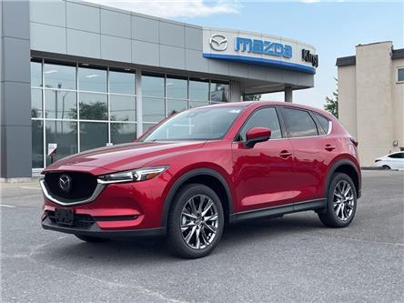 2021 Mazda CX-5 Signature (Stk: 21T199) in Kingston - Image 1 of 15