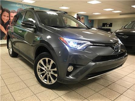 2017 Toyota RAV4 Hybrid Limited (Stk: 211416A) in Calgary - Image 1 of 11