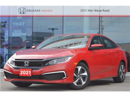 2021 Honda Civic LX (Stk: 16-210371A) in Orléans - Image 1 of 20