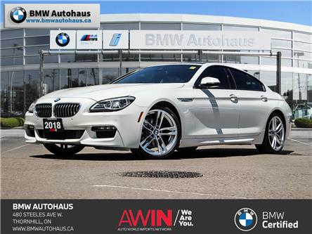 2018 BMW 640i xDrive Gran Coupe (Stk: P10499) in Thornhill - Image 1 of 30