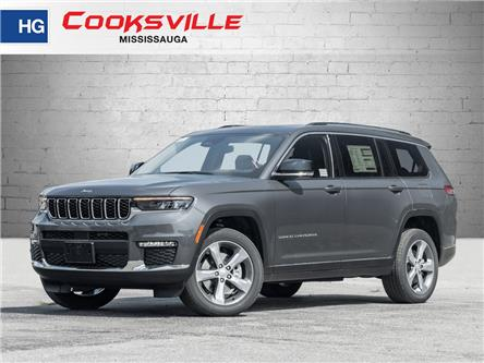 2021 Jeep Grand Cherokee L Limited (Stk: M8149539) in Mississauga - Image 1 of 24