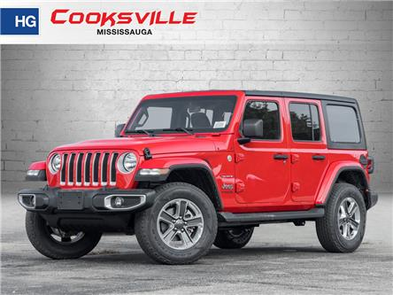2021 Jeep Wrangler Unlimited Sahara (Stk: MW736405) in Mississauga - Image 1 of 21