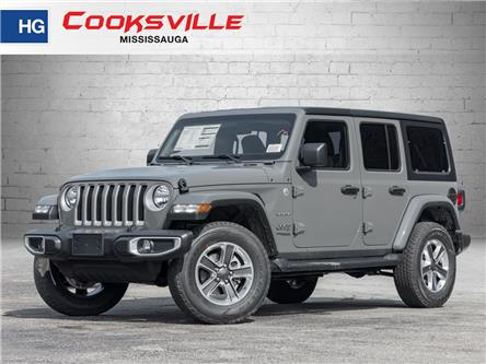 2021 Jeep Wrangler Unlimited Sahara (Stk: MW736406) in Mississauga - Image 1 of 21