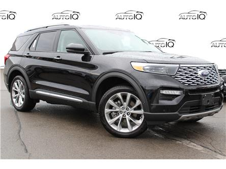 2021 Ford Explorer Platinum (Stk: 210573) in Hamilton - Image 1 of 28