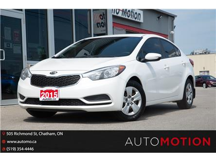 2015 Kia Forte  (Stk: T21572) in Chatham - Image 1 of 18