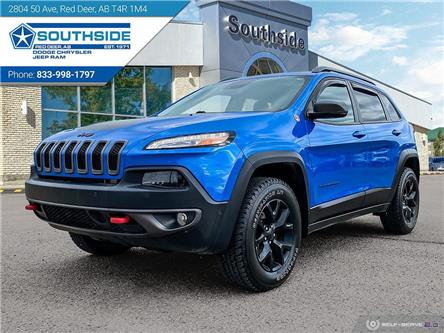 2018 Jeep Cherokee Trailhawk (Stk: 14685A) in Red Deer - Image 1 of 25