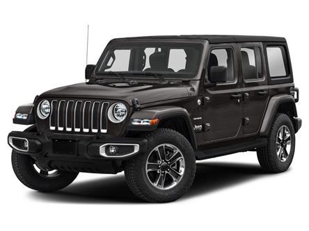2021 Jeep Wrangler Unlimited Sahara (Stk: 5M218) in Medicine Hat - Image 1 of 9