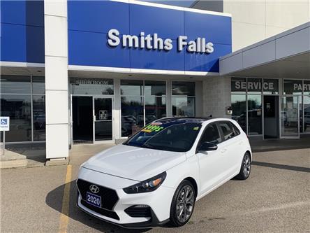 2020 Hyundai Elantra GT N Line (Stk: P32811) in Smiths Falls - Image 1 of 11