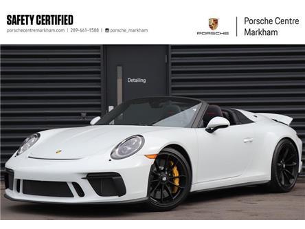 2019 Porsche 911 Speedster (Stk: PU0145) in Markham - Image 1 of 30