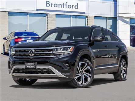 2021 Volkswagen Atlas Cross Sport 3.6 FSI Execline (Stk: AS21757) in Brantford - Image 1 of 23