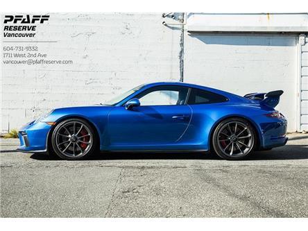 2018 Porsche 911 GT3 (Stk: MV0343AA) in Vancouver - Image 1 of 18