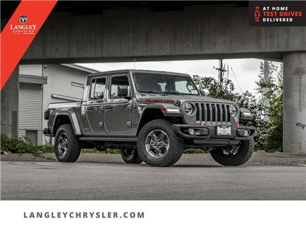 2021 Jeep Gladiator Rubicon (Stk: M592658) in Surrey - Image 1 of 26