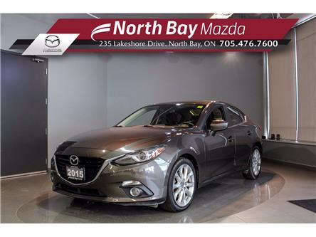2015 Mazda Mazda3 GT (Stk: U6832) in North Bay - Image 1 of 28