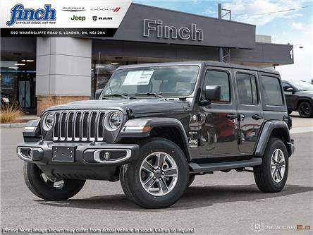 2021 Jeep Wrangler Unlimited Sahara (Stk: 102753) in London - Image 1 of 24