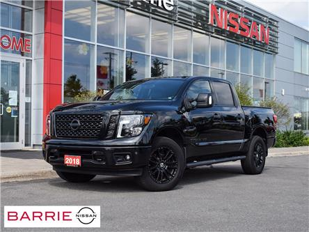 2018 Nissan Titan SL Midnight Edition (Stk: 21011A) in Barrie - Image 1 of 27