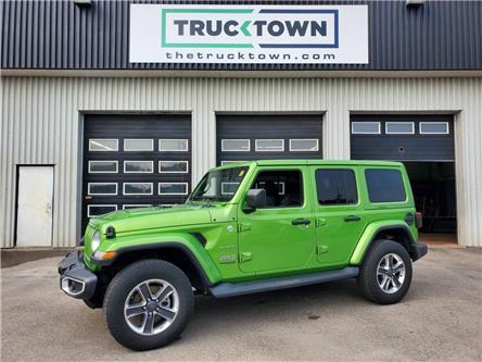 2019 Jeep Wrangler Unlimited Sahara (Stk: T0573) in Smiths Falls - Image 1 of 22